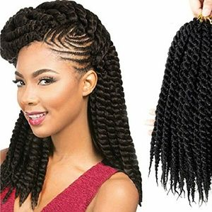 Bundles of twist kinky hair